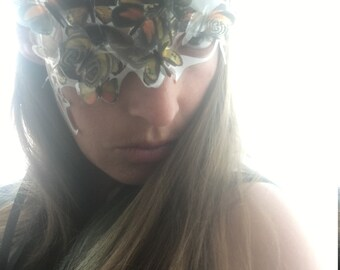 White Butterfly Mask