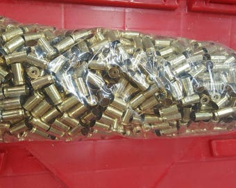 380 Auto processed brass casings for crafting or reloading 1000ct