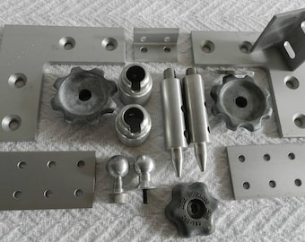 Aluminum Found Objects-Robot Parts-Junk Drawer-Industrial