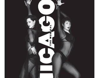 Chicago The Musical  Ambassador Theater Playbill  2.5 x 3.25 Magnet