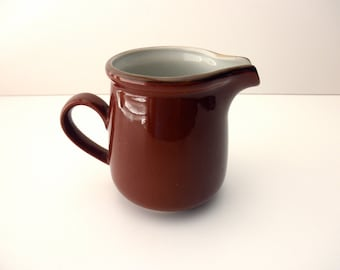 vintage brown creamer -  made in Japan