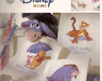 Winnie The Pooh Counted Cross Stitch Pattern,.Eeyore Cross Stitch, Disney Cross Stitch / amigurumi pooh / Ebook / PDF/Instant Download