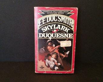 Vintage Skylark Duquesne by EE Doc Smith 1980 Scifi Paperback