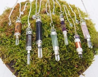 Gemstone Pendulums/Pendants
