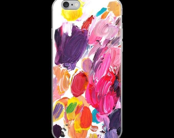 Artistic Phone Case, iPhone 7 Case, iPhone 6 Plus Case, Artsy iPhone Case, Galaxy Case, iPhone 7 Plus Case, Pink iPhone 7 Case
