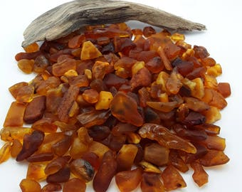 Raw Amber Stones, Unpolished Baltic Amber,  Genuine Baltic sea amber