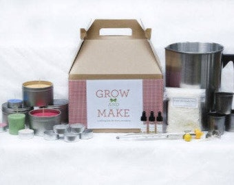 DIY Complete Soy Wax Candle Making Kit (makes 68 candles)