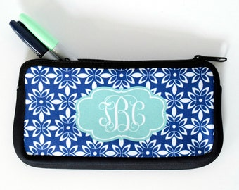 Personalized Pencil Case | Monogram Pencil Pouch