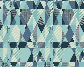 Intertwill in Azur - ESSENTIALS 2 - Pat Bravo for Art Gallery Fabrics - By the Yard