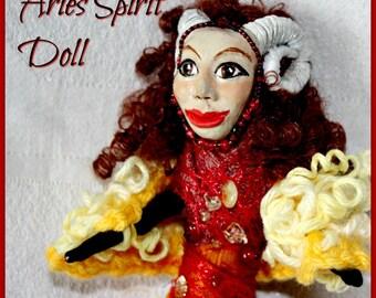 Aries Spirit Doll