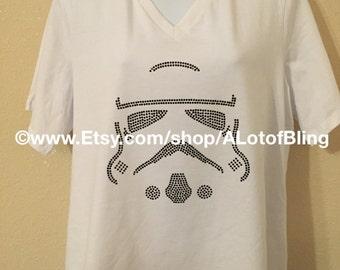 Star Wars - Stromtrooper Rhinestone T-Shirt