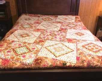 Full (double) quilt or throw