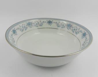 Porcelain fruit bowl Blue Hill Noritake Japan