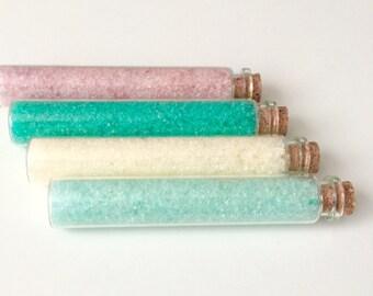 Bath Salt Gift Set, Scented Bath Salts, Bath Salt Assorted Set, Shower Favor, Wedding Favors, Party Favor, Gift for Her