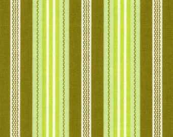 LAST 34 Inches - Green - Joel Dewberry - Aviary Collection - Broad Stripe OOP - JD18