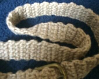 Handmade macramé belt