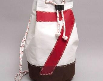 Coriolis, sailor bag made of recycled sailcloth
