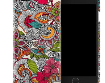 Doodles Color by Valentina Ramos - iPhone 6 & iPhone 6 Plus Clip Case - DecalGirl