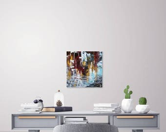 Mixed Abstract Painting