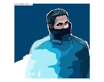 Download Blade runner 2049 digital illustration