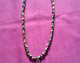 Cloisonné series Mary N7 necklace
