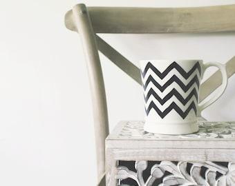 Chevron Print Pattern Mug