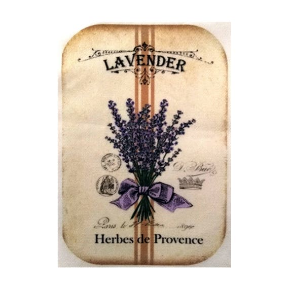 """Applied fusible - Collection """"Lavender"""" AT403-2"""