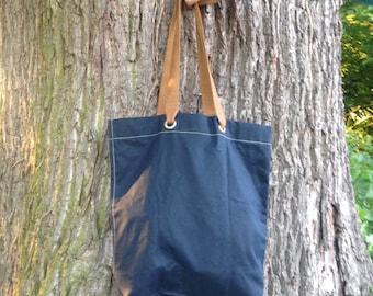 Oilskin Tote Bag