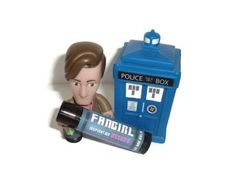 Fangirl - Lavender Marshmallow Flavor Doctor Who Inspired Lip Balm Geek Stix - Osgood - Shimmer