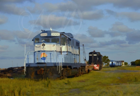 Train in Cape Charles Virginia