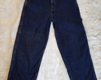 "Tommy Hilfiger Men Jeans Vintage 90s Painters Pants 31 X 30 (Measures 31"" X 30"")"