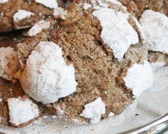 Chocolate Crinkles (One Dozen)