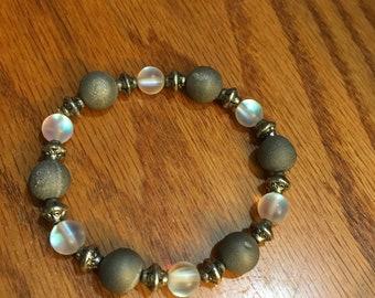 Chalcedony, Quartz Bracelet