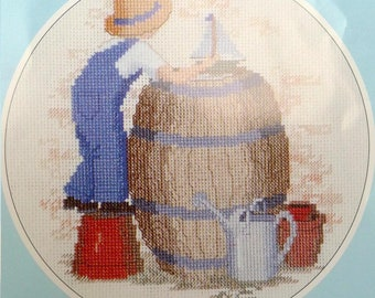 Ship Ahoy Memories a counted cross stitch design by Rose Swalwell