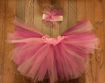 Pink Baby Tutu-Made To Order