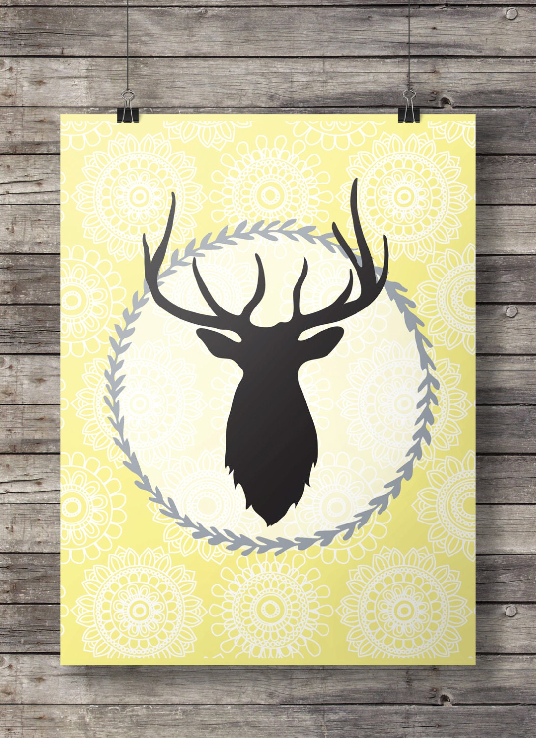 Awesome Chrome Stags Head Wall Decoration Images - Wall Art Ideas ...