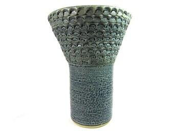 OOAK Ceramic vase |Ceramic handmade vase | Ceramic vase | Art | Ceramic vase for cut or silk flower arrangements