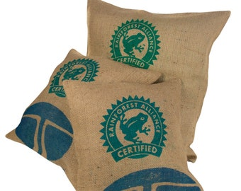 Coffee Bag Pillow Cover-size s (--frog)
