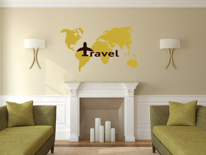 World map travel decal world map decal travel wall decal travel world map travel decal world map decal travel wall decal travel decor world map wall art traveler world map love to travel travel gumiabroncs Image collections