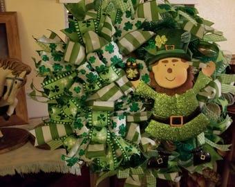 Saint Patrick's day Wreath