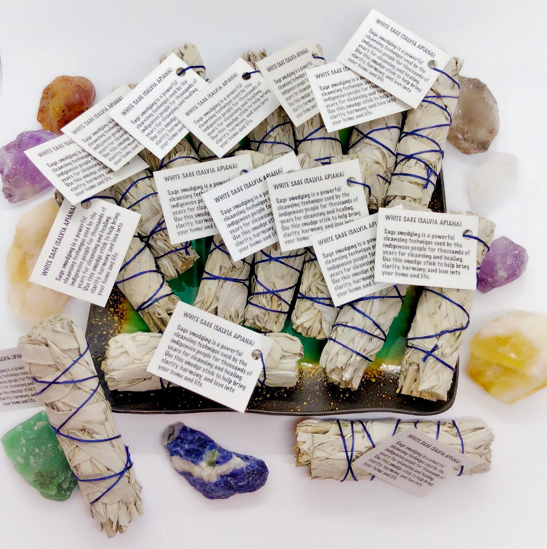 Wedding Favors Sage Smudge Sticks - Custom Options Available ...
