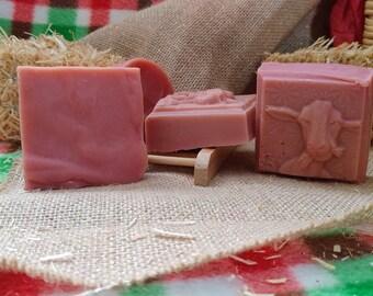 Red Rose Soap Bar
