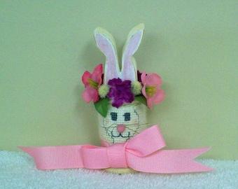 Spring Spool Bunny
