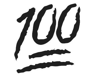 100 facts emoji htv diy iron on heat transfer vinyl decal