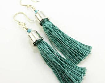 Handmade Tassel Earrings - Prima Donna Beads