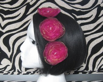 Hair Bloom Triplets. Hot Mambo