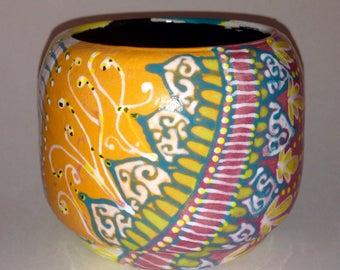 Ceramic Wheel Thrown Pot