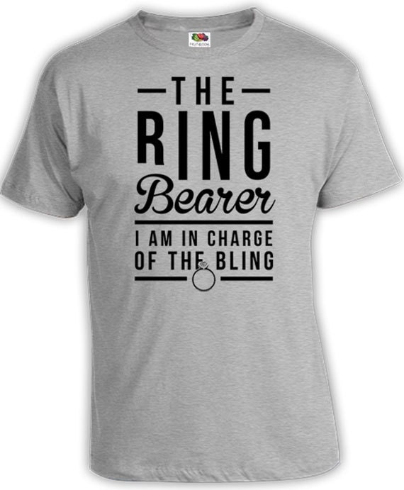 Ring Bearer Outfits Wedding Party Shirts Kids Clothes Boys T