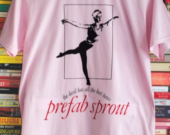 Prefab Sprout The Devil Has All The Best Tunes Tee/T-shirt