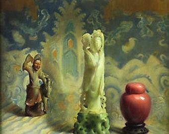 Molly Guion Jade and China 1942 Original Lithograph